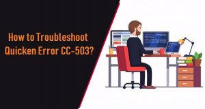 Quicken Error C-503